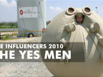 The Yes Men at The Influencers 2010 (1)