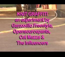 Knit Graffiti - The Influencers 2011